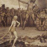 La veritable moralina del mite de David i Goliat