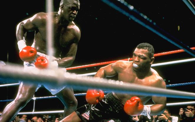 Tyson vs Buster Douglas